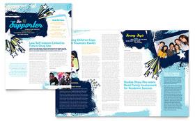 Child Advocates - Newsletter Template