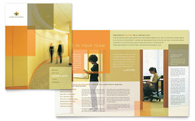 HR Consulting - Microsoft Word Brochure Template