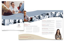 Marketing Consulting Group - Brochure Sample Template