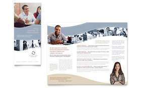 Marketing Consulting Group - Microsoft Publisher Brochure Template
