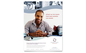 Marketing Consulting Group - Flyer Template