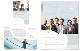 Business Consulting - Flyer & Ad