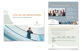 Business Consulting - Microsoft PowerPoint Template