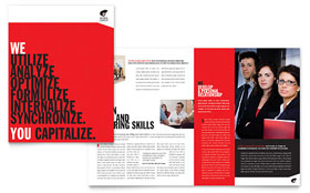 Business Executive Coach - Adobe InDesign Brochure Template