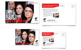 Business Executive Coach - Postcard Template Design Sample