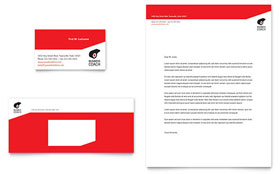 Business Executive Coach - Business Card & Letterhead