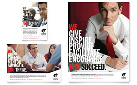Business Executive Coach - Flyer & Ad Template