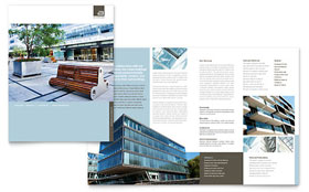 Architect - Pamphlet Sample Template