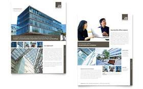 Architect - Datasheet Template Design Sample