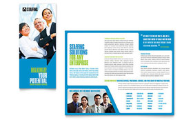 Staffing & Recruitment Agency - Brochure Template
