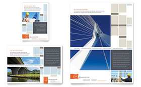 Civil Engineers - Flyer & Ad Template