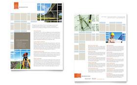 Civil Engineers - Datasheet Template