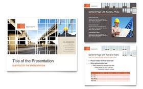 Civil Engineers - PowerPoint Presentation Sample Template