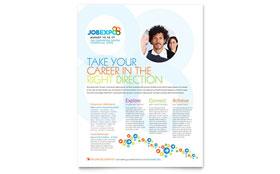 Job Expo & Career Fair - Flyer Template