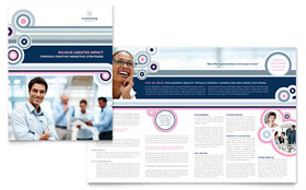 Marketing Agency - CorelDRAW Brochure Template