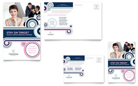 Marketing Agency - Postcard Template