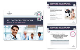 Marketing Agency - PowerPoint Presentation Template Design Sample