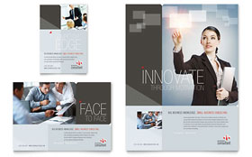 Corporate Business - Print Ad Sample Template