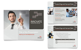 Corporate Business - PowerPoint Presentation Template Design Sample