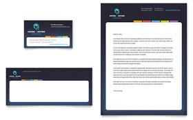 Secretarial Services - Letterhead Template