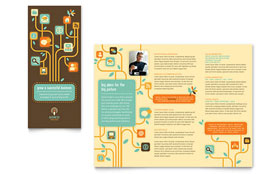 Business Services - Tri Fold Brochure