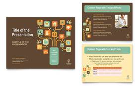 Business Services - PowerPoint Presentation Template Design Sample