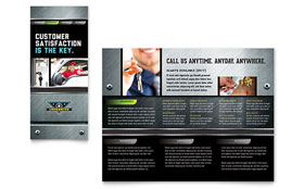 Locksmith - Brochure Template Design Sample
