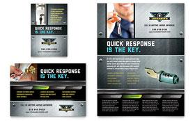 Locksmith - Flyer & Ad Template