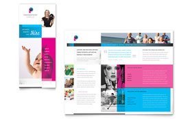 Photography Business - Tri Fold Brochure Template Design Sample