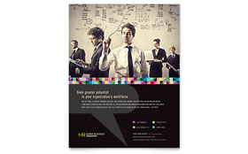 Human Resource Management - Flyer Template