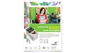 Printing Company - Flyer Template