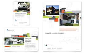 Architectural Design - Leaflet Template Design Sample