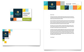 Advertising Company - Business Card & Letterhead Template