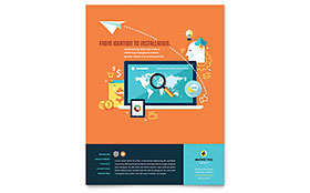 Advertising Company - Flyer Template
