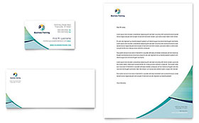 Business Training - Business Card Sample Template