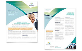 Business Training - Datasheet Template