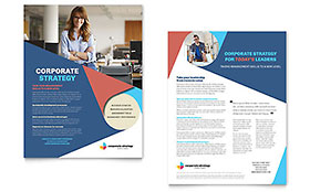 Corporate Strategy - Sales Sheet Sample Template