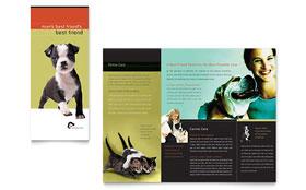 Veterinary Clinic - Brochure Sample Template