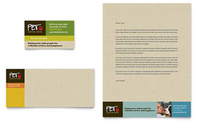 Animal Shelter & Pet Adoption - Business Card Template