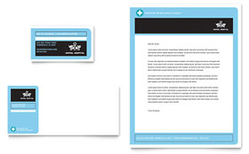 Animal Hospital - Business Card Template Design Sample