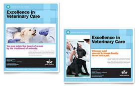 Animal Hospital - Poster Template