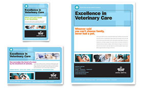 Animal Hospital - Flyer & Ad Template Design Sample