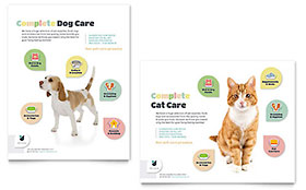 Pet Store - Poster Sample Template
