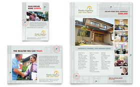 Real Estate Agent & Realtor - Flyer & Ad Template