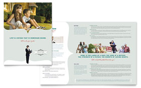 Realtor & Realty Agency - Brochure Template Design Sample