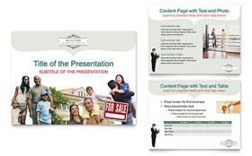 Realtor & Realty Agency - Microsoft PowerPoint Template