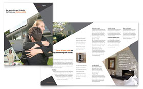 Contemporary & Modern Real Estate - Microsoft Word Brochure Template