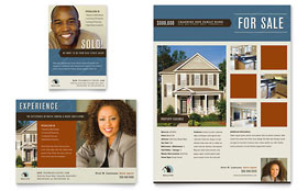 Real Estate Agent & Realtor - Leaflet Sample Template