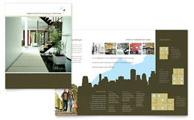 Urban Real Estate - Microsoft Word Brochure Template