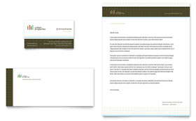 Urban Real Estate - Business Card & Letterhead